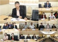 ประชุมเพื่อรับทราบปัญหาและอุปสรรคที่พบจากการตรวจสอบวิเคราะห์รายงานธุรกรรมตามแบบต่างๆ