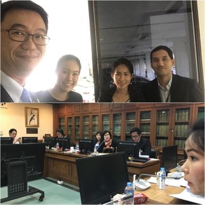 ประชุมพิจารณาข้อมูลแผนการออกกฎหมายรองรับประชาคมอาเซียน