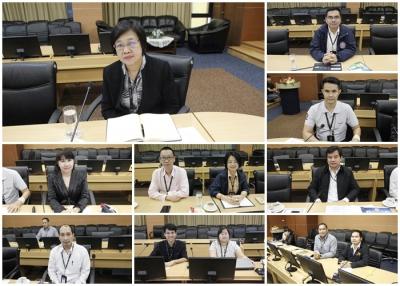 ประชุมหารือการดำเนินการจัดตั้งศูนย์ปฏิบัติการ สำนักงาน ปปง.